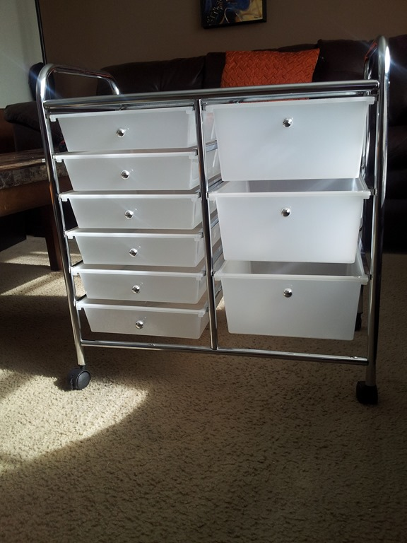 ... product I purchased in December – a rolling cart by Recollections